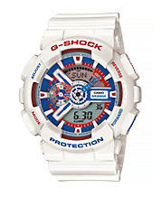Tri-Colour Analog G-Shock Watch