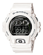 G-Shock XL 6900 Gloss and White Watch