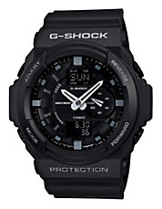 Mens XL Chiseled Black G Shock Watch