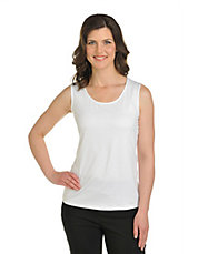 Petite Knit Sleeveless Crewneck