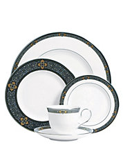 Vintage Jewel 5 Piece Placesetting