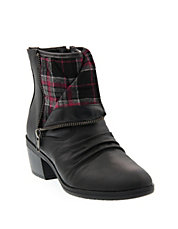 Ruched Cuffable Shaft Booties