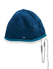 Two-Piece Fleece Audio Beanie Set