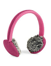 Two-Piece Faux Fur Earmuff Set