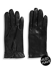 9 Inch Leather Touchscreen Gloves