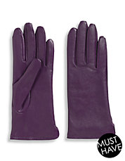 Vented Lined Leather Gloves