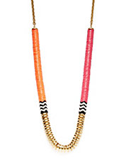 Bright Tribal Stacked Necklace