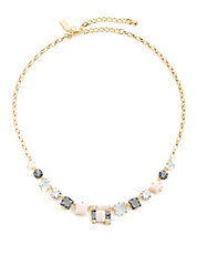 Neapolitan Mini Statement Necklace