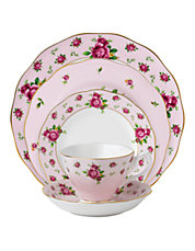 New Country Roses Dinnerware Collection