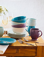 French Perle Everything Dinnerware Collection