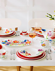Anmut Flowers Dinnerware Collection