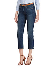 Waverly High-Rise Straight Cropped Jeans