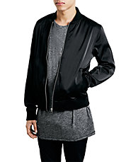 Black And Beyond Bomber Jacket