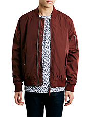 Rust Bomber Jacket