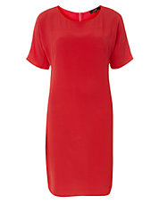 Luxe Hot Coral Tunic