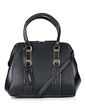 Smart Leather Look Holdall