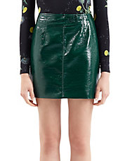 Maida Vinyl Mini Skirt by Unique