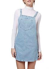 MOTO Bleach Plait Pini Dress