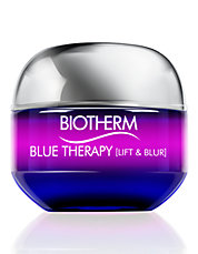 Blue Therapy Blur Face