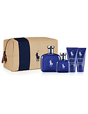 Polo Blue Dopp Kit Set