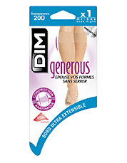 Generous knee-highs