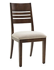 Ashley Wood Back Dining Chair