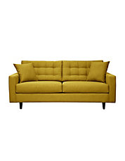 Gramercy Sofa With Tufted Back Track Arms