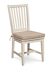 Chelsea Side Chair in Washed Linen