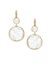 Ivanka Trump Earrings 18kt Yellow Gold