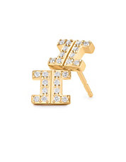 Metropolis Earrings 18kt Yellow Gold