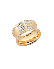 Metropolis Ring. 18kt Yellow Gold