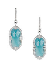 Patras Earrings 18kt White Gold