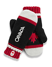 Canada Red Mittens Adult