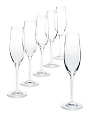 Catering Set of 6 Champagne Flutes
