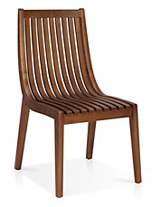 Canalli Dining Chair with Slat Back Set of Two