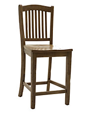 Paradise 24 inch All Wood Bar Stool