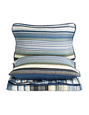 Capetown 3 Piece Yarn Dyed Quilt Set