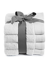 Set of Four Cotton Hand Towels