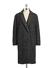 Long Boyfriend Wool Coat