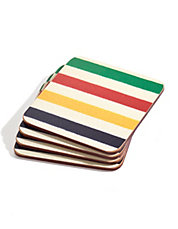 Point Blanket Coasters - Set of 4