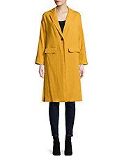 Manteau jaune femme h&m