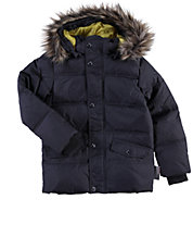 Hooded Down-Fill Puffer Jacket
