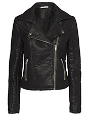 Dawn Faux Leather Jacket