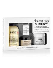 Four-Piece Cleanse, Refine, and Renew Set