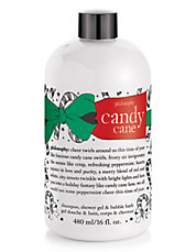 Candy Cane Shampoo Shower Gel and Bubble Bath