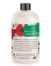 Snowlace Shampoo, Shower Gel and Bubble Bath