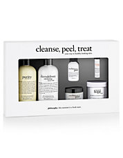 Six-Piece Cleanse, Peel, and Treat Set