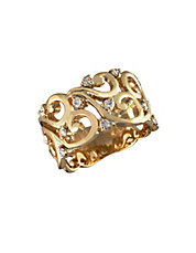 14K Yellow Gold 0.40ct Diamond Ring