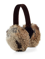 Soft Rabbit Fur Earmuffs