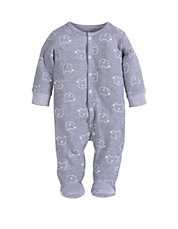 Sleeper With Bear Print